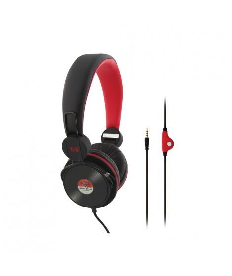 T'nB Ακουστικά κεφαλής ενσύρματα με μικρόφωνο CSBCVINYLE 070050
