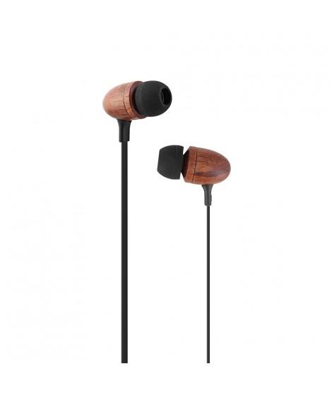 TNB ESFEELBR Ακουστικά ψείρες με μικρόφωνο και handsfree Καφέ