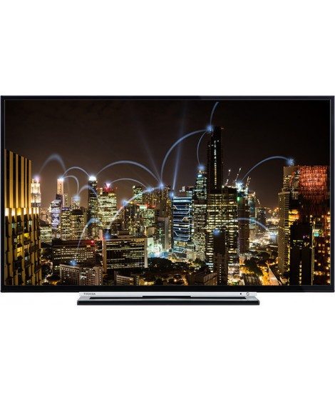"Toshiba Τηλεόραση L-Smart FHD 55L3763DG 55"" LED Full HD"