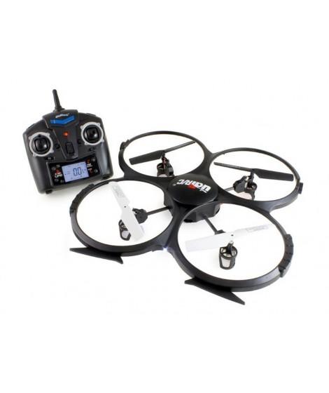 UDIRC Drone U818A, 480p Camera, 6- Axis, 360°flips, μαύρο