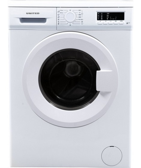 United UWM9107 Πλυντήριο Ρούχων 9 KG ,A++ ,1000 στροφές