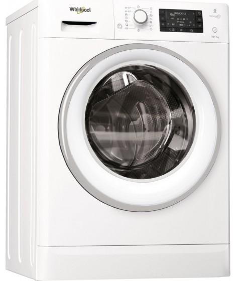 Whirlpool Πλυντήριο-Στεγνωτήριο FWDD1071681WS (10Kg-7Kg 1600 Στροφών)