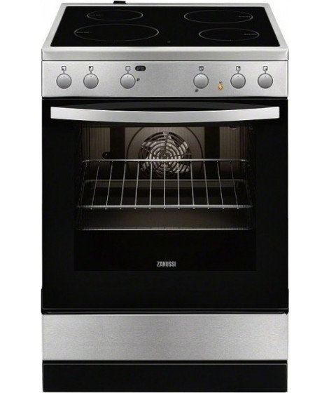 Zanussi Κεραμική Κουζίνα ZCV65020XA Inox