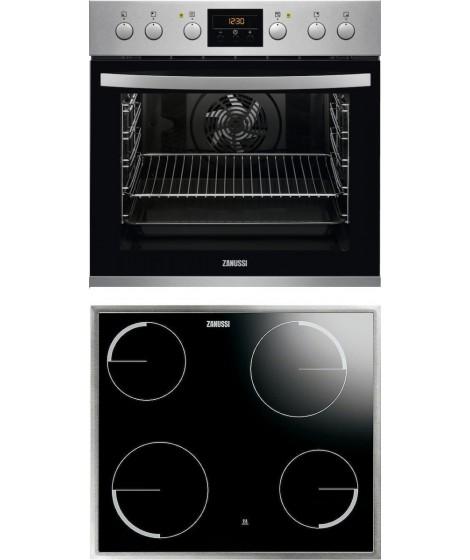 Zanussi Σετ Εντοιχιζόμενος Φούρνος ZOU35802XU + Εστία ZEV6040XBA