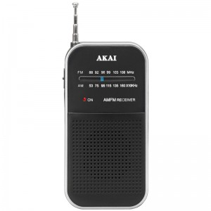 Akai APR-350 Αναλογικό φορητό ραδιόφωνο FM / AM