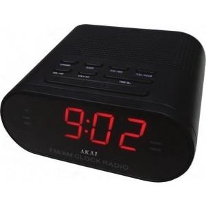 AKAI CR002A-219 Ψηφιακό Ραδιόφωνο Pολόι Ξυπνητήρι