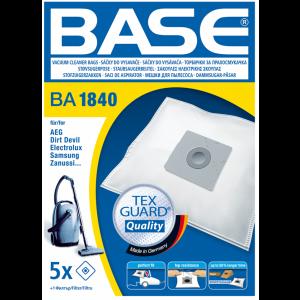 BASE Σακούλες ηλεκτρικής σκούπας BA 1840