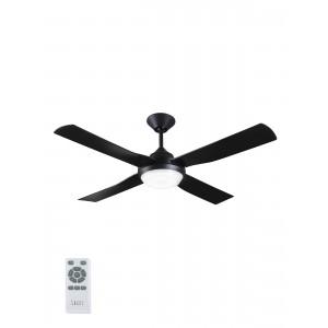 Lucci Air Banksia Black LED DC Ανεμιστήρας οροφής