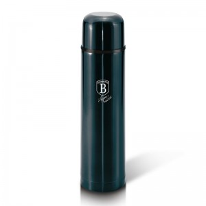 Berlinger Haus BH-6380 Θερμός Vacuum από ανοξείδωτο ατσάλι 1L Metallic Line Aquamarine Edition