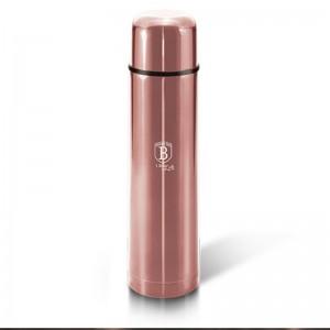 Berlinger Haus BH-6382 Θερμός Vacuum από ανοξείδωτο ατσάλι 1L i-Rose Edition