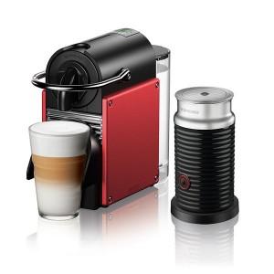 Delonghi EN124.RAE Pixie Carmine Red & Aeroccino Μηχανή Nespresso®