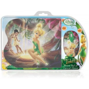 Disney Fairies TinkerBell Mouse Pad + Ποντίκι
