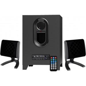 REINA Ηχεία RT-3023 2.1, 8W + 2x 4W, USB/FM/SD, Τηλεχειριστήριο