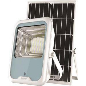 Eurolamp 147-69593 Προβολέας LED SMD Ηλιακός Με Ανιχνευτή Κίνησης 30W IP66 DC5V 6500K Λευκός PLUS