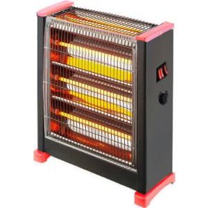 Eurolamp Θερμάστρα χαλαζία 2800W με θερμοστάτη 147-29156