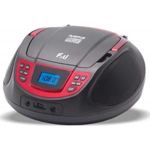 F&U RCD9039MU Φορητό Ράδιο-CD με USB