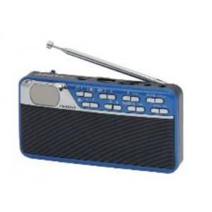 First FA-1925-1-BU Ράδιο/Ρολόι, MP3/USB Μπλε
