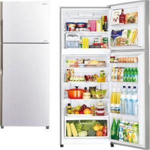 Hitachi Δίπορτο Ψυγείο R-V470PRU3 (PWH)