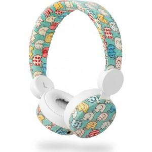 NEDIS On-ear ενσύρματα ακουστικά N-imal Elephant Blue HPWD4100WT