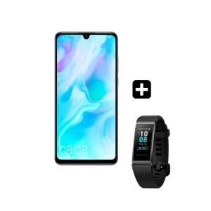 HUAWEI P30 LITE Smartphones Pearl White + ΔΩΡΟ Huawei Band 3 Pro