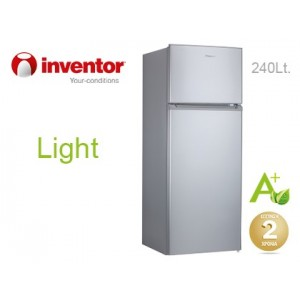 Inventor Ψυγείο Δίπορτο Light INVMS240A