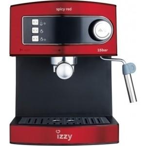 Izzy Μηχανή Espresso 6823 Barista Spicy Red