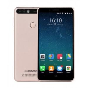 "LEAGOO Smartphone KIICAA Power, 5"" Quad Core, 2/16GB Gold + Θήκη + Screen Protector"