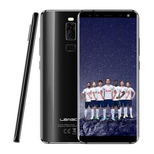 "LEAGOO Smartphone S8 5.7"" HD IPS, 4G, 3GB/32GB, 8 Core, Quad Cam, Black"