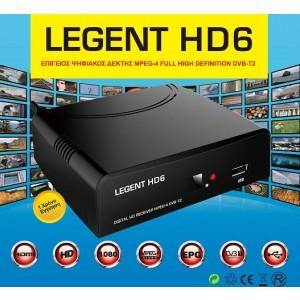 LEGENT HD6 Επίγειος Ψηφιακός Δέκτης