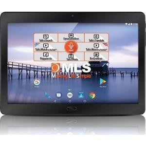 """MLS T8 Fingerprint 4G 10"""" Tablet"""