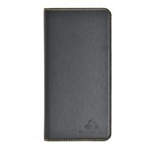 "POWERTECH Θήκη Magnet Leather Slide Wide για Smartphone 5.5-5.9"", μαύρη MOB-0959"