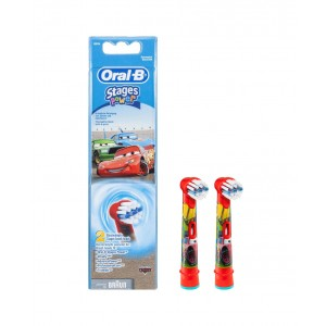 Oral B Ανταλλακτικά Βουρτσάκια Stages Power Cars 2 τμχ