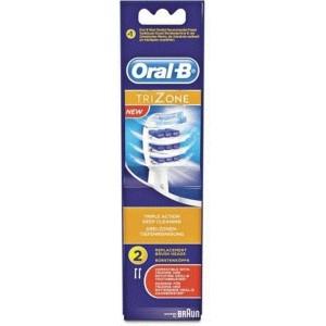 Oral B Trizone Ανταλλακτικές Κεφαλές 2 τεμ