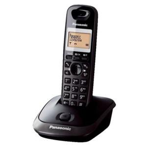 Panasonic KX-TG2511 GRT Black Ασύρματο Τηλέφωνο