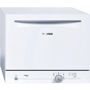 Pitsos Επιτραπέζιο πλυντήριο πιάτων 55 cm Λευκό POWERJET6