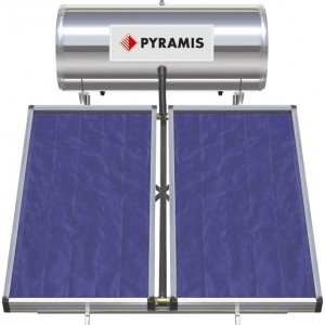 Pyramis 200lt/3m² Glass Διπλής Ενέργειας 026000505
