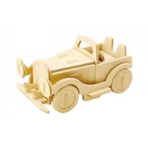 ROWOOD Ξύλινο 3D πάζλ αυτοκίνητο JP110, 25τμχ