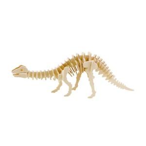ROWOOD Ξύλινο 3D πάζλ δεινόσαυρος απατόσαυρος JP219, 39τμχ