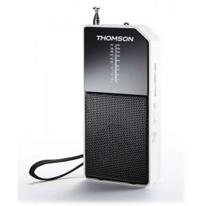 THOMSON Ραδιόφωνο τσέπης RT205, αναλογικό, λευκό