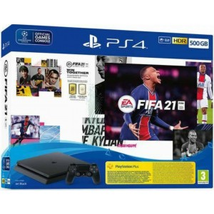 SONY PS4 SLIM 500GB+FIFA 21 (PS719829621) Playstation 4