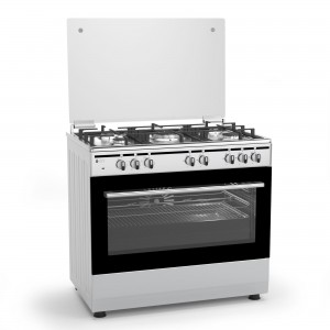 Thermogatz Κουζίνα Υγραερίου-Φυσικού Αερίου TGS 7000 IX MULTIGAS - INOX