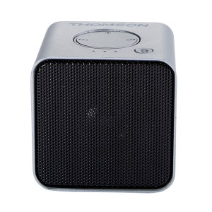 THOMSON Φορητό ηχείο WS01GM με μικρόφωνο, bluetooth/SD/AUX in, 3W, ασημί