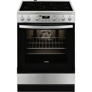 Zanussi Κουζίνα Κεραμική ZCV65320XA 72Lt Inox A