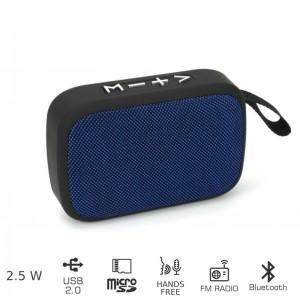 AKAI ABTS-MS89B Φορητό ηχείο Bluetooth με USB ΚΑΙ SD – 2.5W