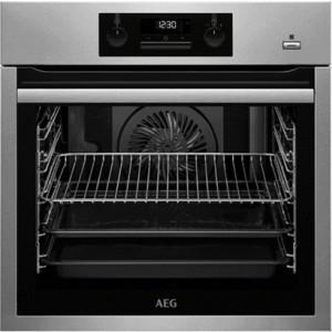 AEG BPS351120M εντοιχιζόμενος φούρνος inox (με πυρόλυση και ατμό)