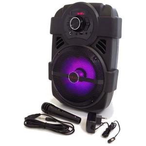 Akai ABTS-808L Bluetooth Ηχείο LED, USB, Aux-In και μικρόφωνο – 10 W