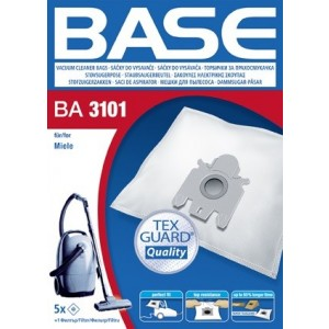 BASE Σακούλες Ηλεκτρικής Σκούπας BA 3101