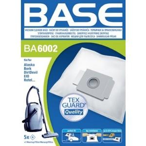 BASE Σακούλες ηλεκτρικής σκούπας BA 6002
