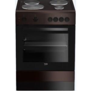 Beko Ηλεκτρική Κουζίνα Καφέ FSS 66001GBR