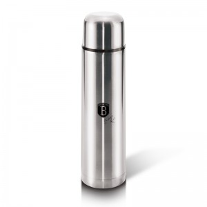 Berlinger Haus BH-1983 Θερμός Vacuum από ανοξείδωτο ατσάλι 1L Black Silver Collection